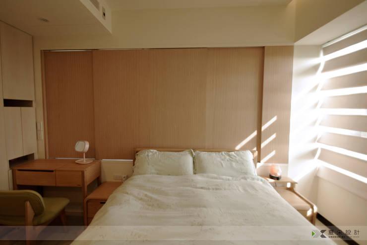 賴著不走北歐混搭風:  臥室 by 寬森空間設計