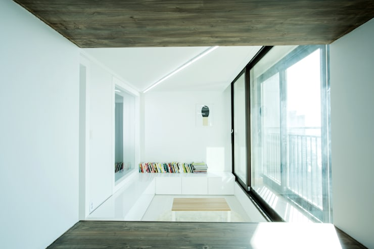 동탄 아파트 인테리어 프로젝트: 사무소아홉칸의  거실