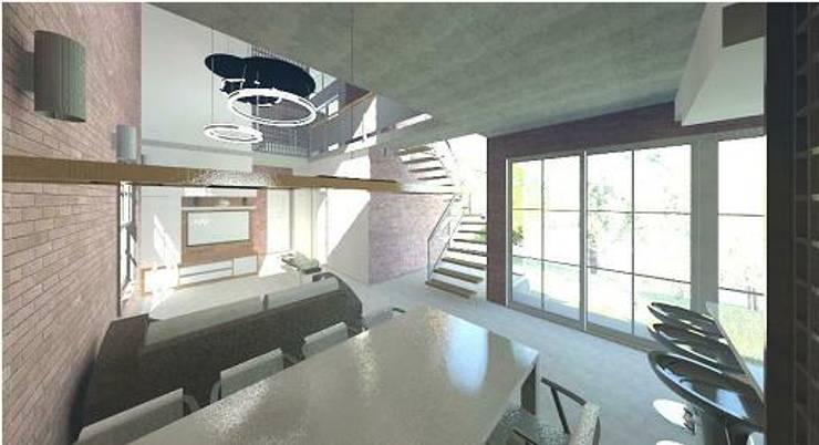 Living room by Arquitetura Ecológica, Modern