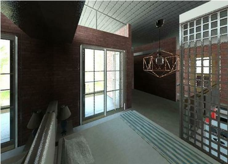 Bedroom by Arquitetura Ecológica, Modern