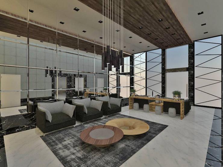 Pasillos, vestíbulos y escaleras modernos de Studio Diego Duracenski Interiores Moderno Madera Acabado en madera
