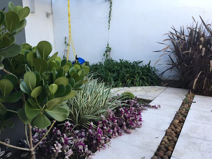 Jardines de estilo moderno por Filhas do Ar