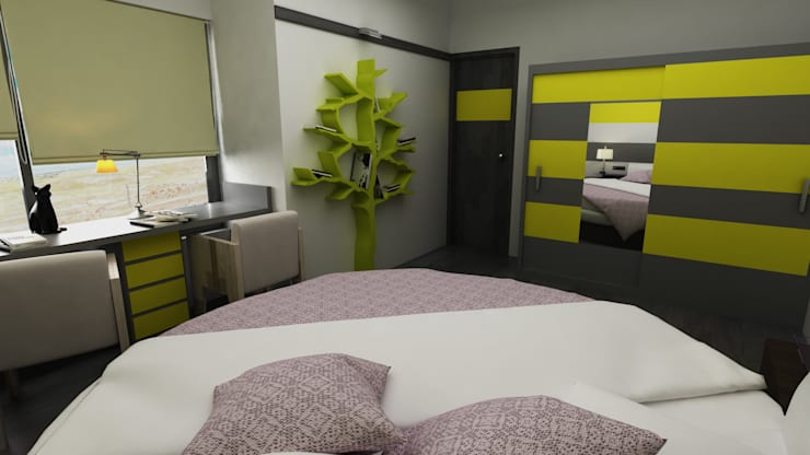Bedroom: modern  by Hinal Dave,Modern