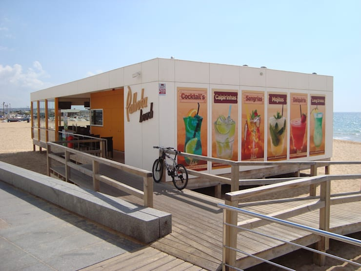 Restoran oleh Rusticasa, Modern Kayu Wood effect