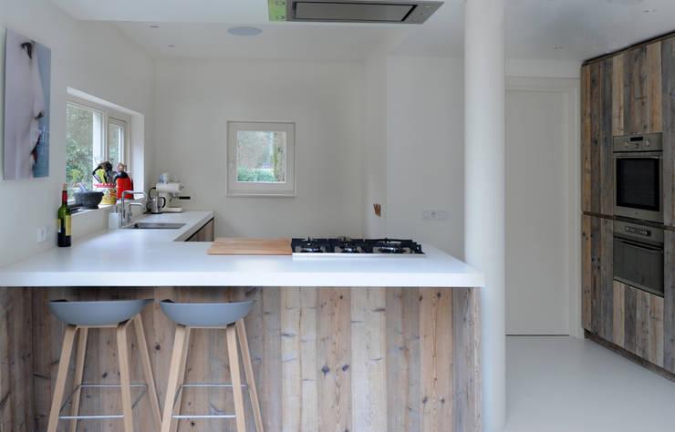 Phòng ăn theo RestyleXL, Bắc Âu Gỗ Wood effect