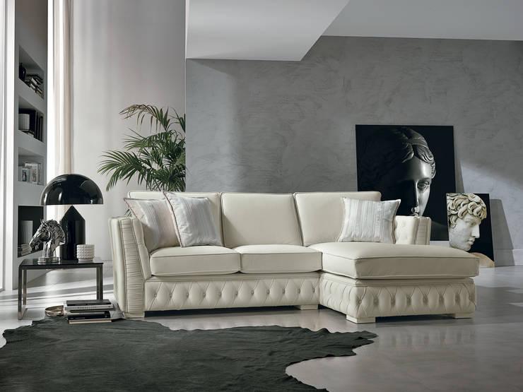 Living room تنفيذ Viadurini