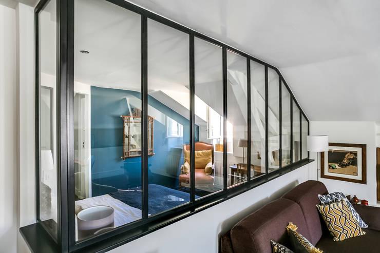 Projekty,  Sypialnia zaprojektowane przez Audrey Boey