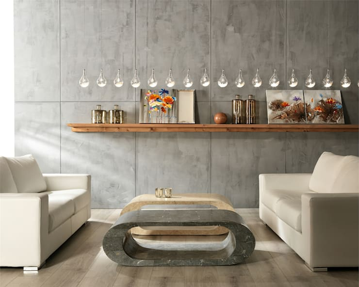 industrial Living room by Viadurini