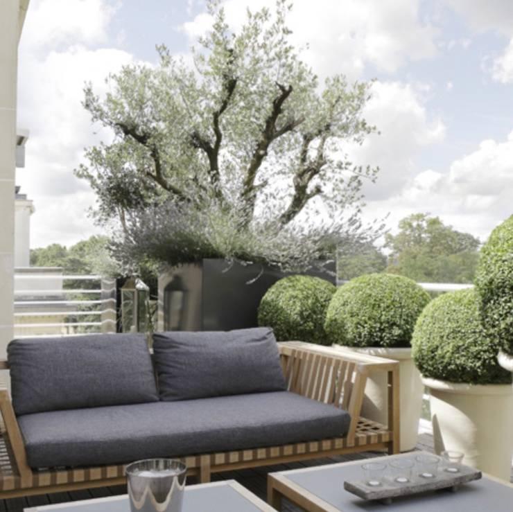 Hiên, sân thượng by Ecologic City Garden - Paul Marie Creation
