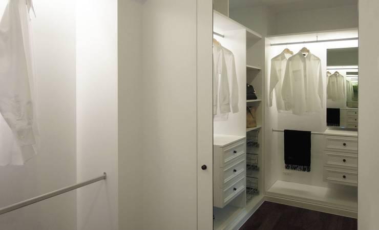 غرفة الملابس تنفيذ 構築設計