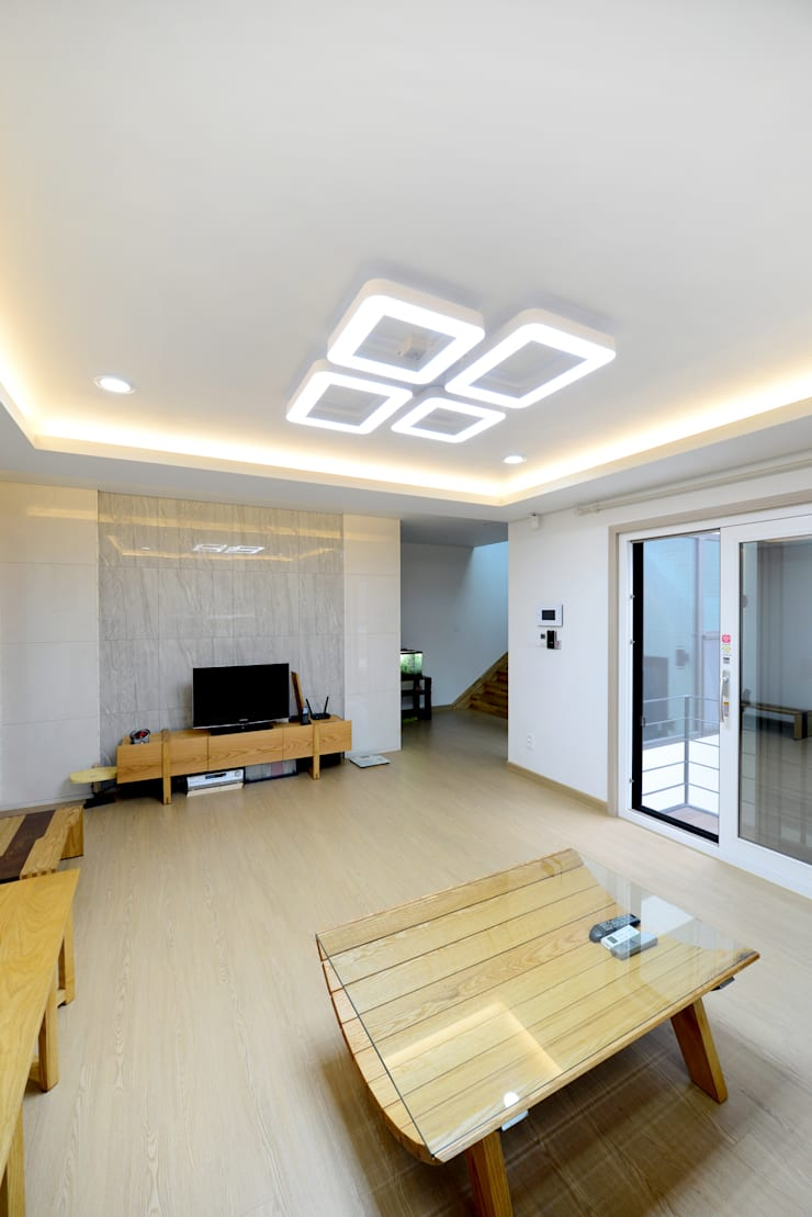 강남 율현동 : 코원하우스의  거실