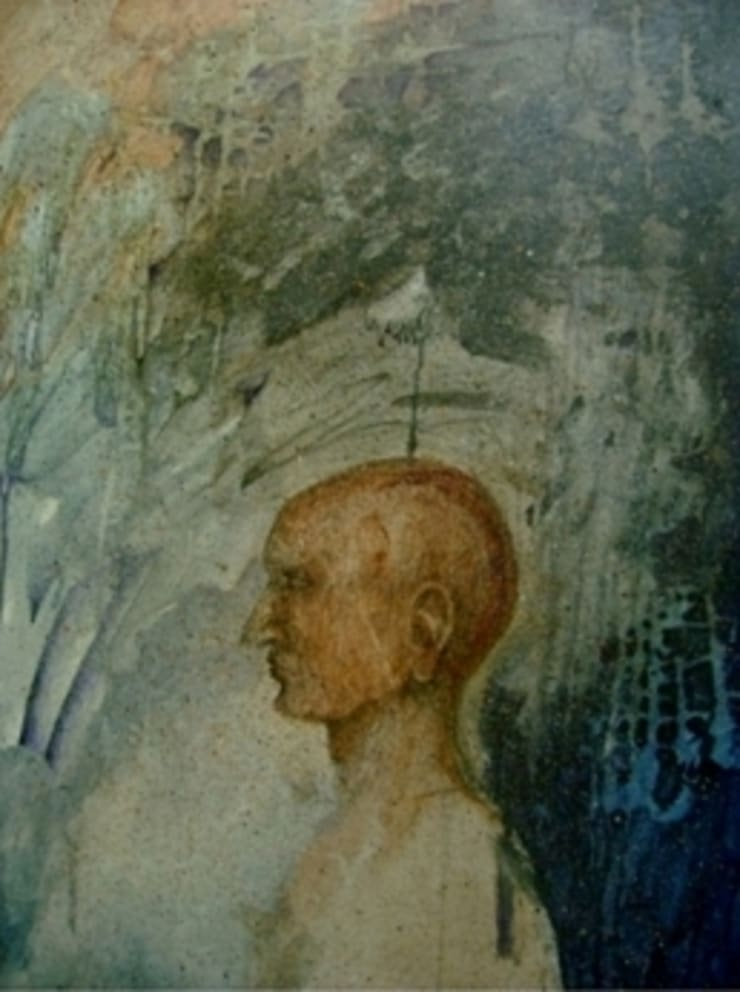 Thinker 2:  Artwork by Indian Art Ideas