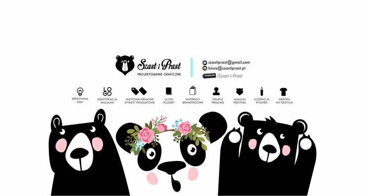 Szast i Prast wita Was! : styl , w kategorii  zaprojektowany przez Szast i Prast ,Nowoczesny