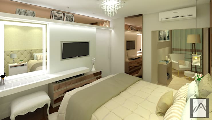 Bedroom by Abitarte - Arquitetura e Interiores