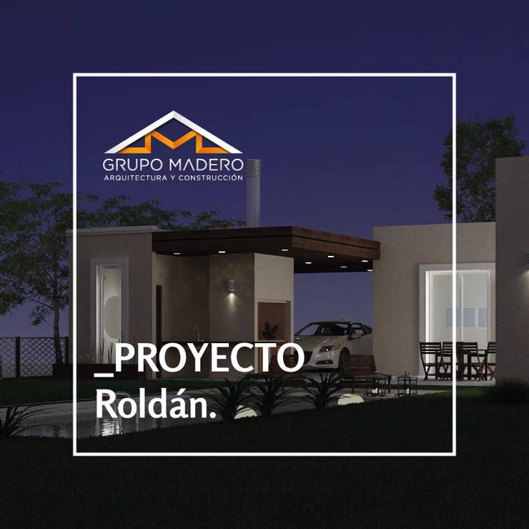 Proyecto Roldán - Grupo Madero: Casas de estilo  por Grupo Madero,Moderno