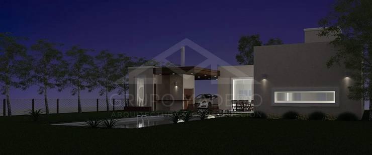 Дома в . Автор – Grupo Madero, Модерн