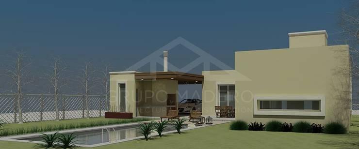 Proyecto Roldán – Grupo Madero: Casas de estilo  por Grupo Madero,Moderno