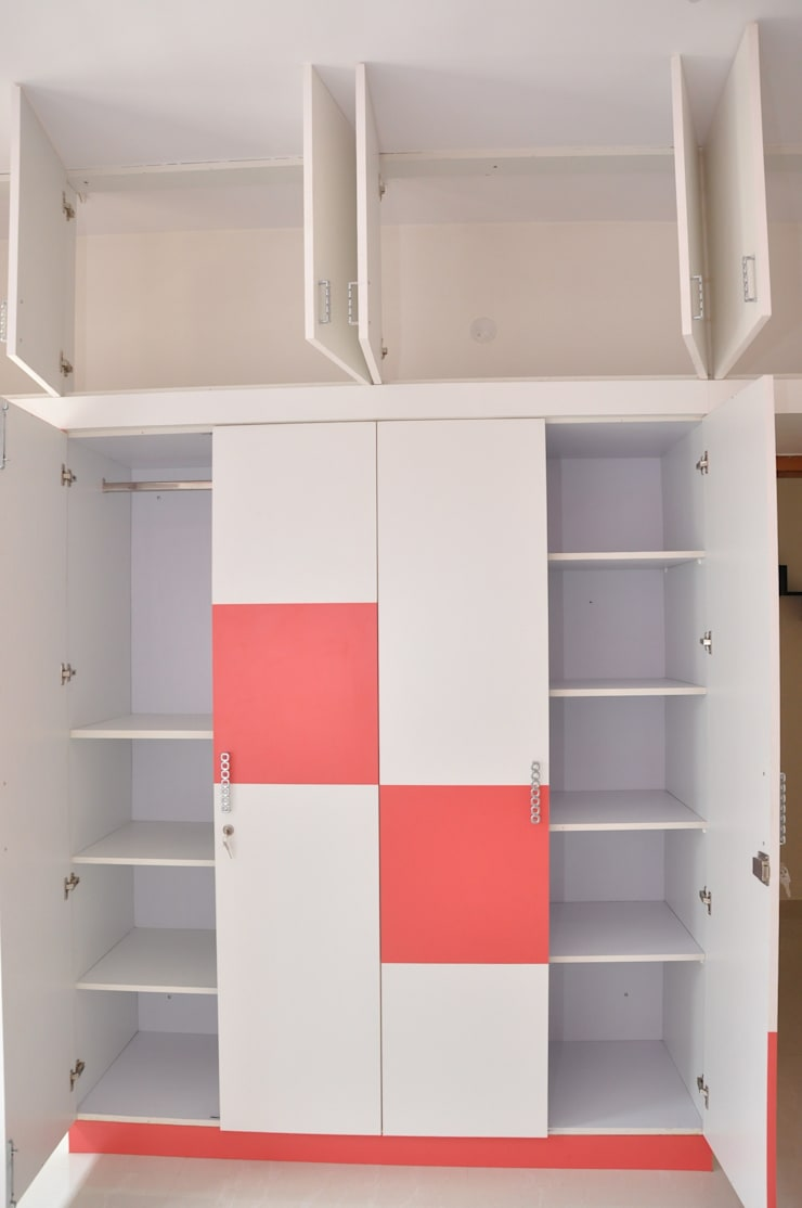 Buy Cupboard Online:  Bedroom by Scale Inch Pvt. Ltd.