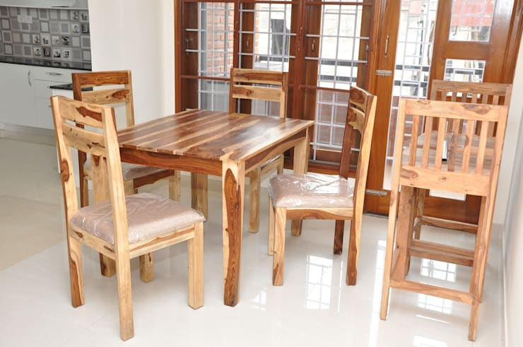 Dining Table Online:  Dining room by Scale Inch Pvt. Ltd.