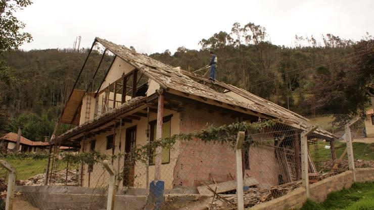 Casa Suesca de Kraus Castro Interior design Rural