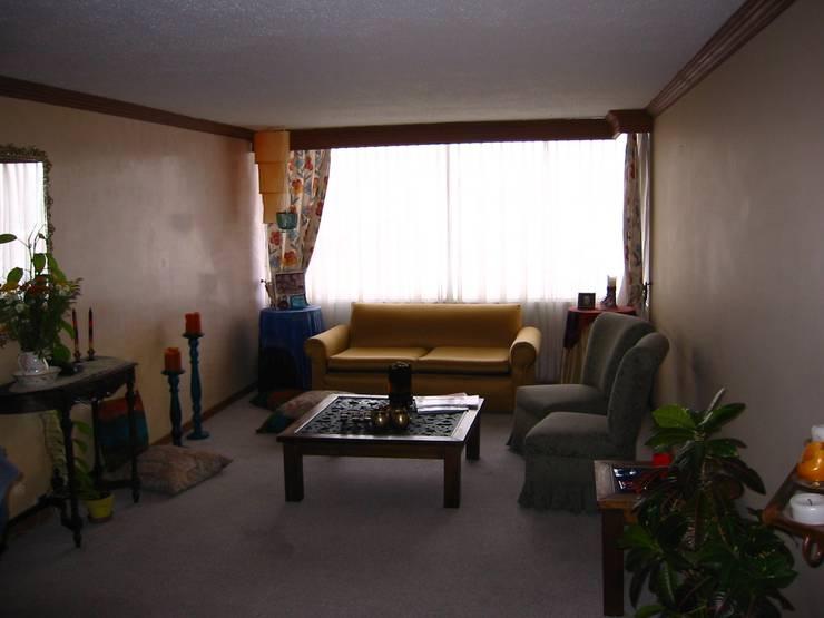 Apartamento Lamus:  de estilo  por Daniel Castro Industrial + Interior design