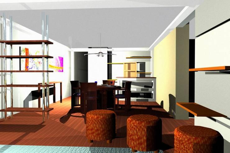 modern  oleh Kraus Castro Interior design, Modern