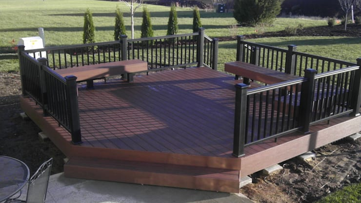 Deck Installation:   by Pretoria Carpenter