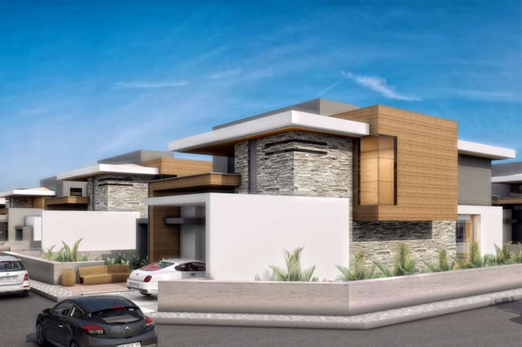 modern Houses by VERO CONCEPT MİMARLIK