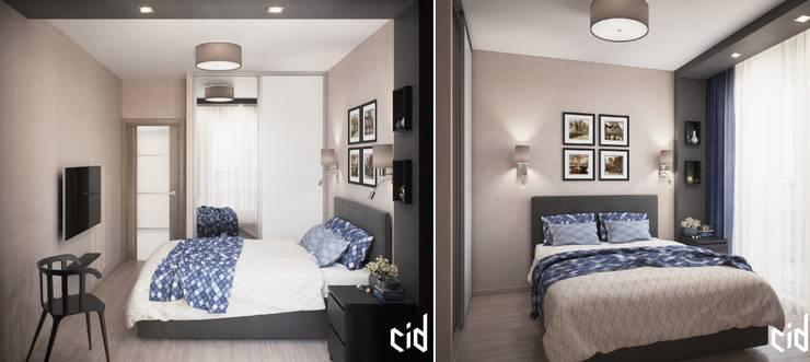 Chambre de style  par Center of interior design,