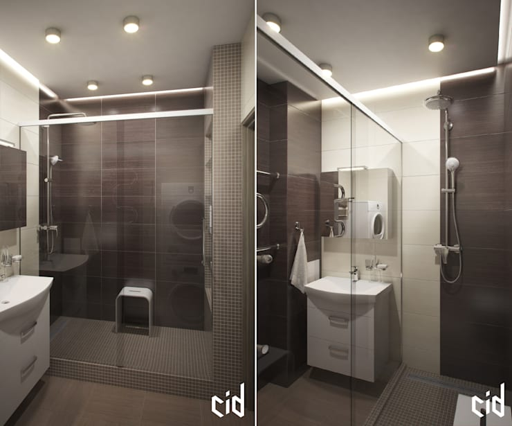 Salle de bains de style  par Center of interior design,