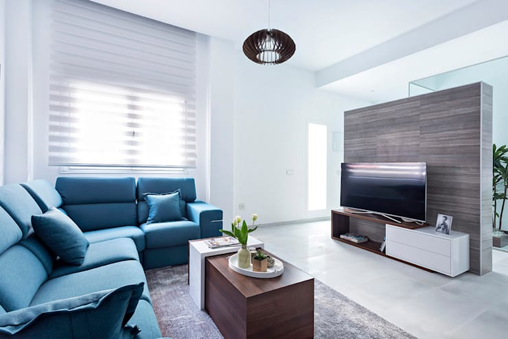 Salas / recibidores de estilo  por PL Architecture