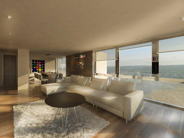 Salas multimédia  por Proa Arquitectura