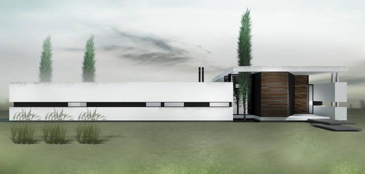 CASA KOSMAN: Dormitorios de estilo  por Proa Arquitectura,Moderno