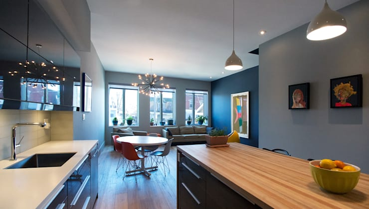 Kitchen by Solares Architecture