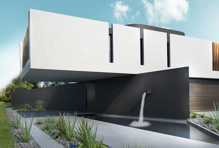 CASA PATRICIOS: Dormitorios de estilo  por Proa Arquitectura