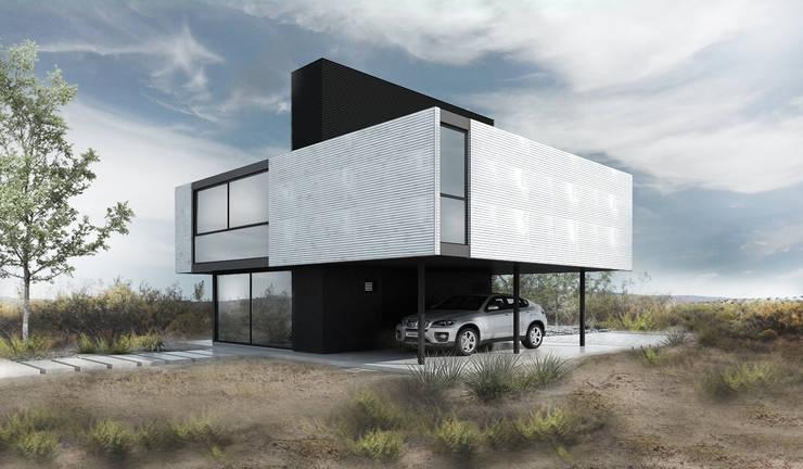 CASA M: Dormitorios de estilo  por Proa Arquitectura