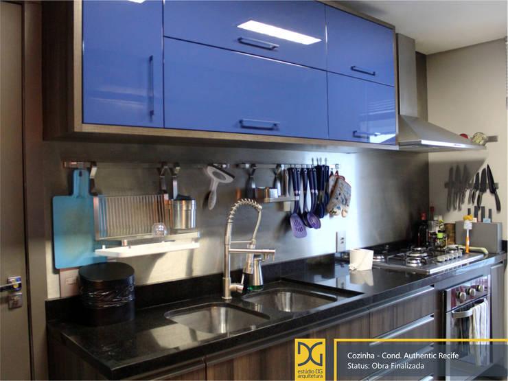 industrial Kitchen by Estúdio DG Arquitetura
