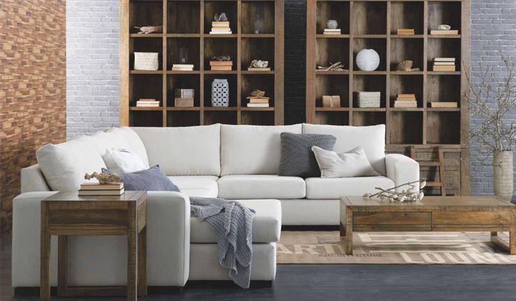asian Living room by nivas