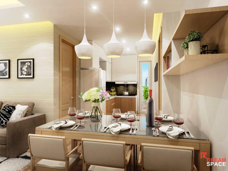 Thiết kế thi công căn hộ chung cư Time City. Hà Nội:  Bedroom by Công ty TNHH Thiết kế và Thi công Dream Space