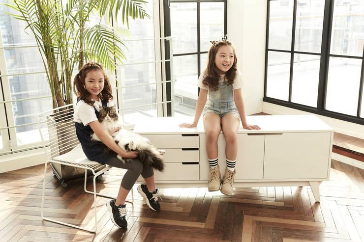 반려동물 가구 Pet Furniture – 스코티쉬 거실장 (서랍형/빈스브라운): TWOINPLACE의  거실