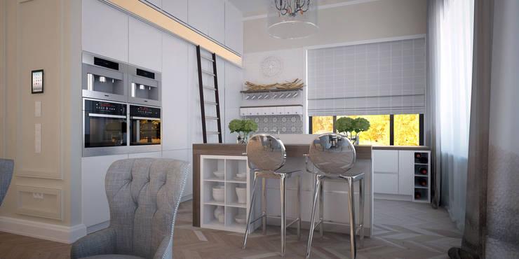 Cocinas de estilo ecléctico de ART Studio Design & Construction Ecléctico
