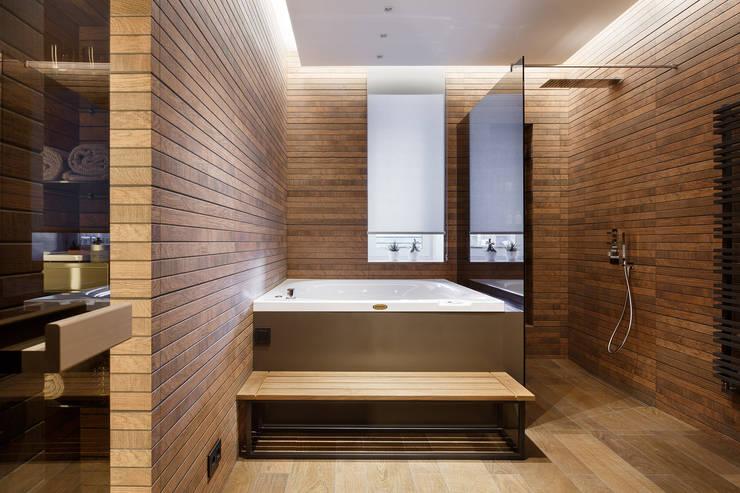 Bagno eclettico di ART Studio Design & Construction Eclettico