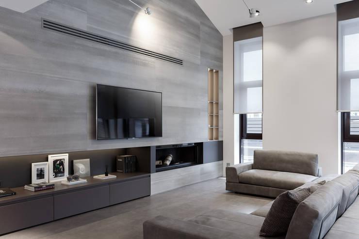 Soggiorno eclettico di ART Studio Design & Construction Eclettico