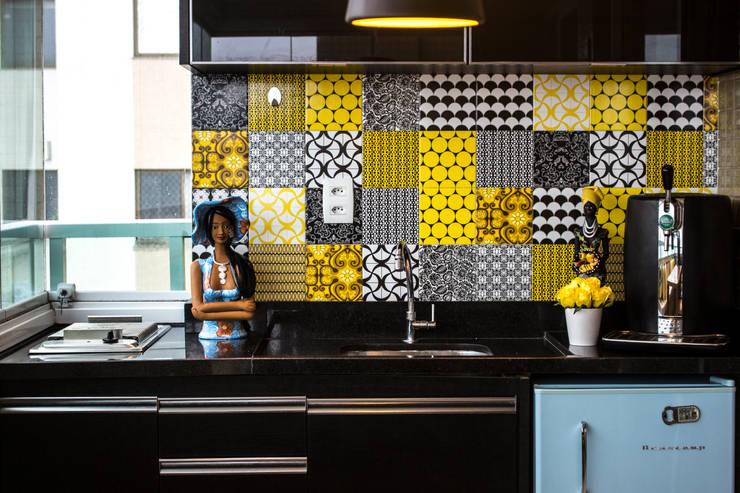 Varanda gourmet: Salas de jantar modernas por Studio MAR Arquitetura e Urbanismo
