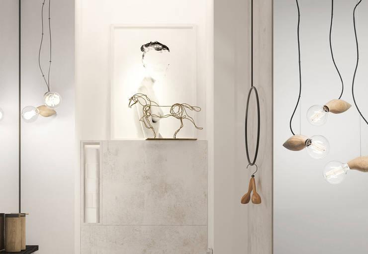 Bagno in stile  di ART Studio Design & Construction