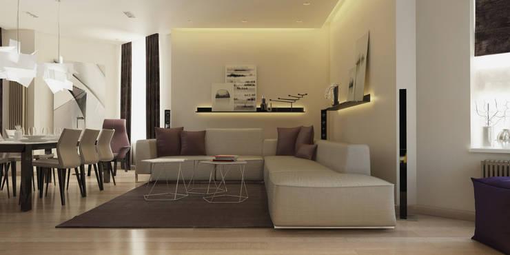 Salones de estilo  de ART Studio Design & Construction
