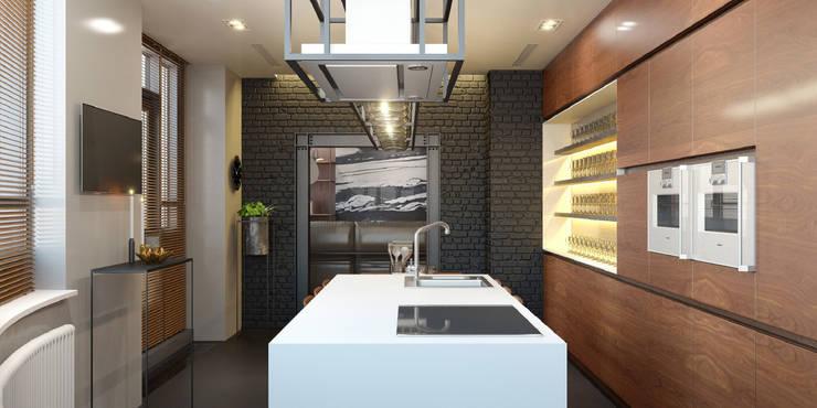 Cocinas de estilo  de ART Studio Design & Construction