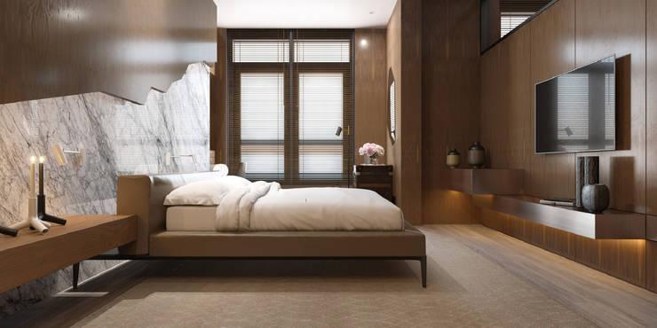 Dormitorios de estilo  de ART Studio Design & Construction