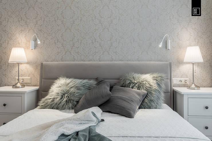 غرفة نوم تنفيذ KODO projekty i realizacje wnętrz