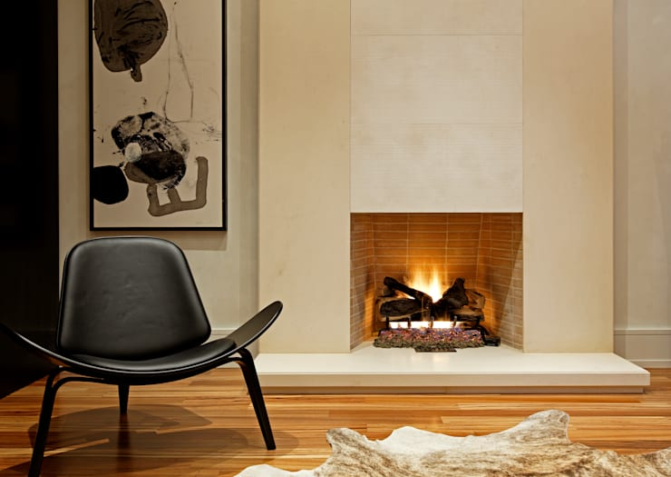 غرفة المعيشة تنفيذ Douglas Design Studio